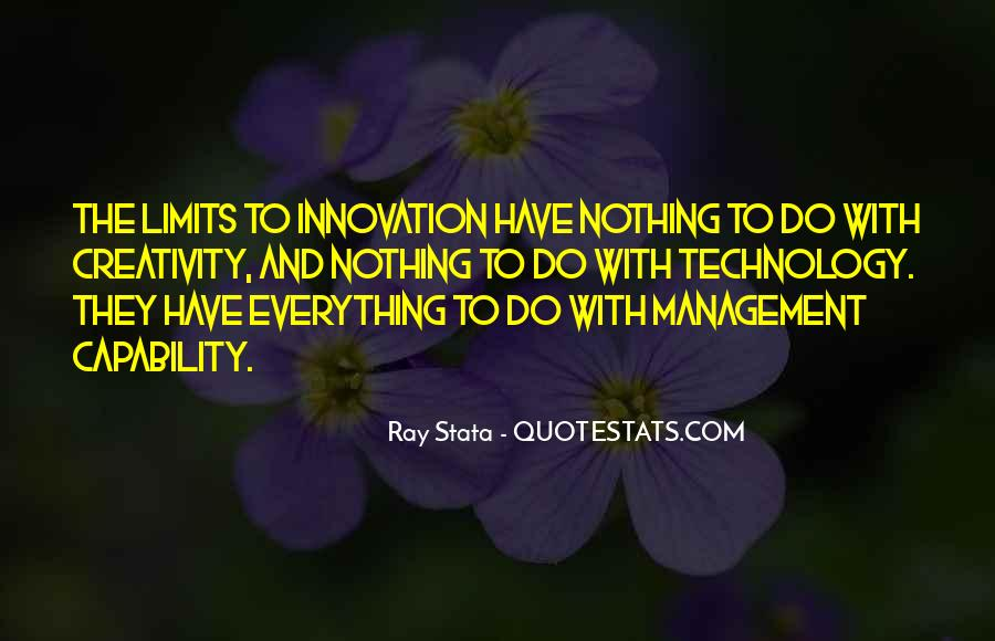 Ray Stata Quotes #115032