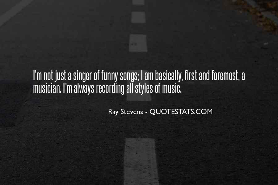 Ray Stevens Quotes #285725