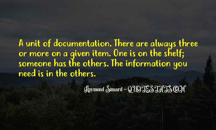 Raymond Simard Quotes #353834
