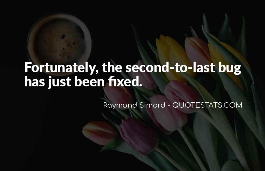 Raymond Simard Quotes #417907