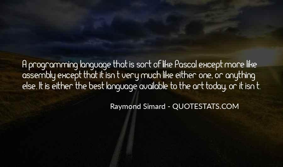 Raymond Simard Quotes #749923
