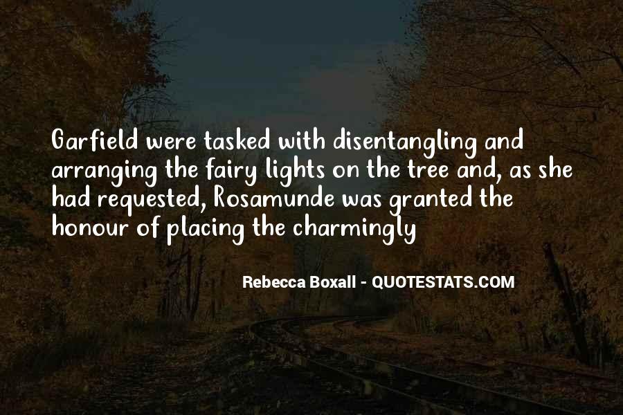 Rebecca Boxall Quotes #1654575