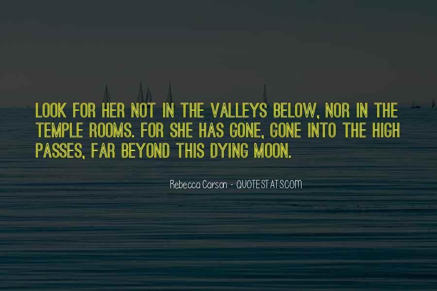 Rebecca Carson Quotes #1555365