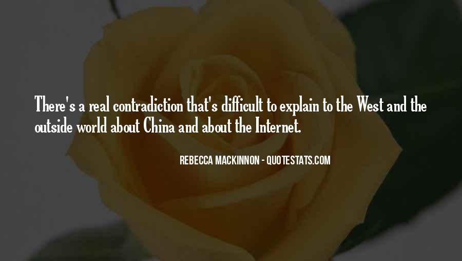 Rebecca MacKinnon Quotes #1109917