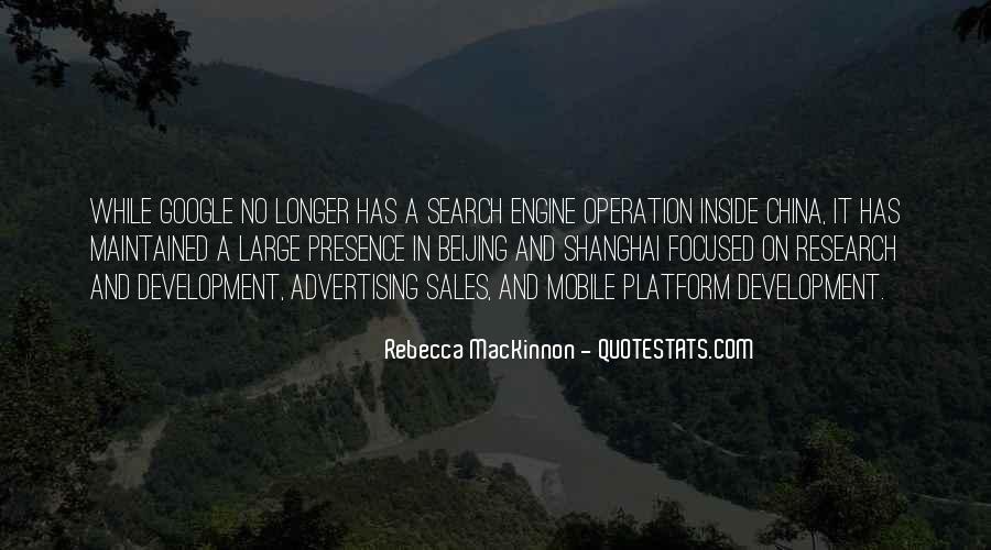 Rebecca MacKinnon Quotes #1116847