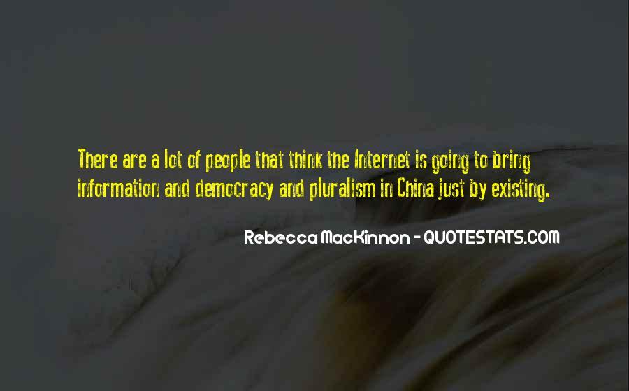 Rebecca MacKinnon Quotes #1178978