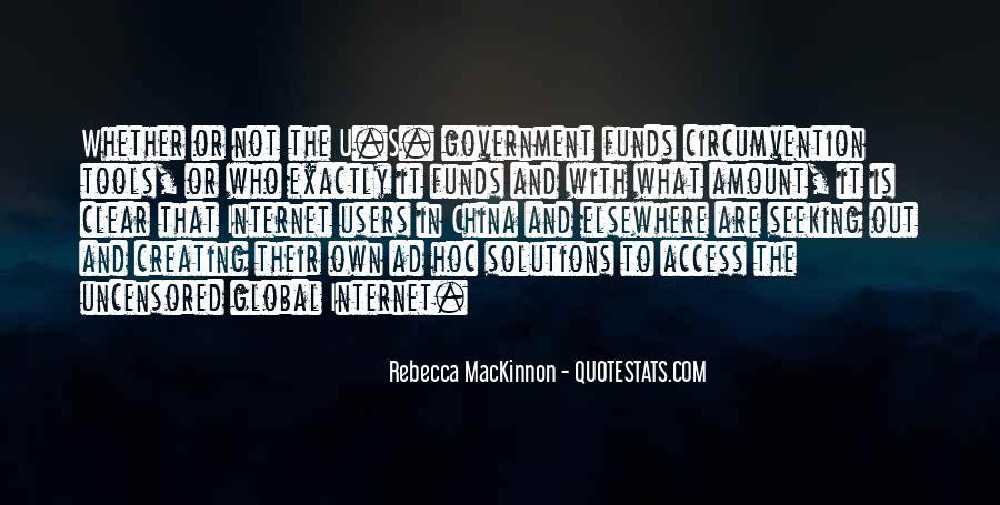 Rebecca MacKinnon Quotes #1280651