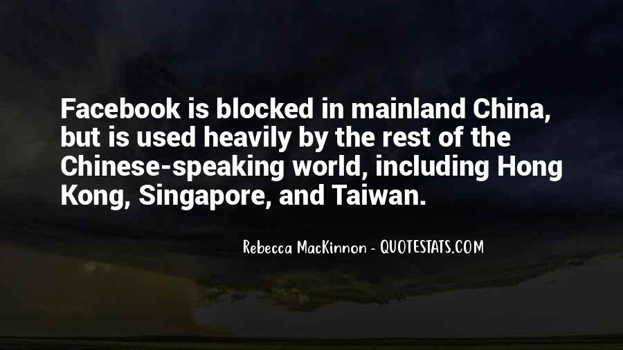 Rebecca MacKinnon Quotes #1299101
