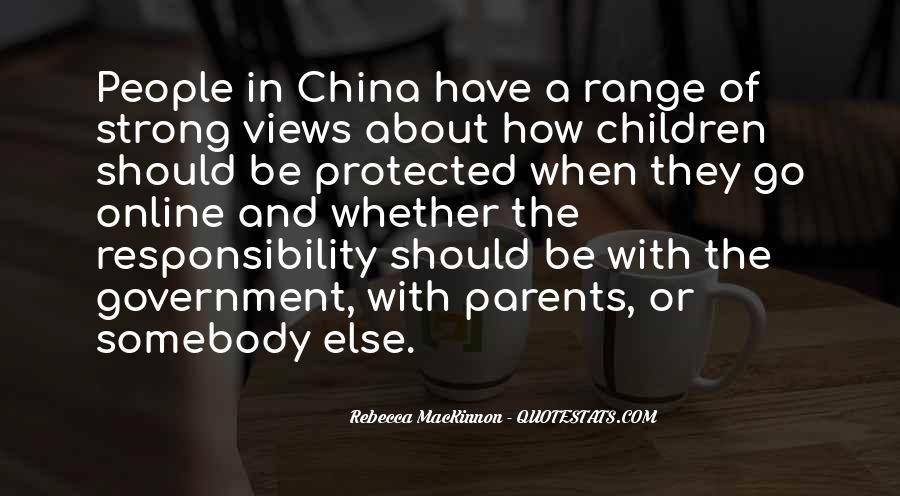 Rebecca MacKinnon Quotes #1341015