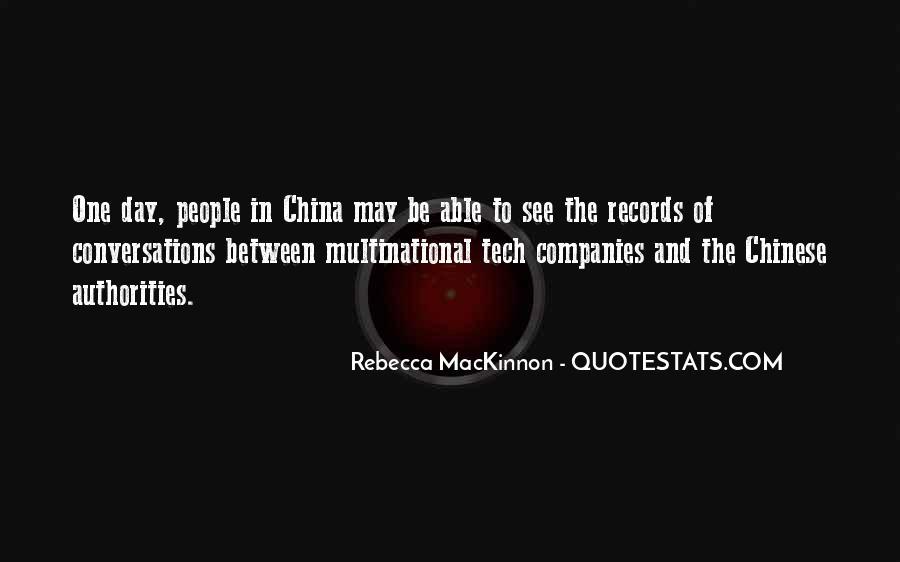 Rebecca MacKinnon Quotes #1363657
