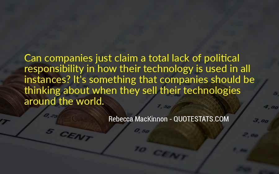 Rebecca MacKinnon Quotes #1428356