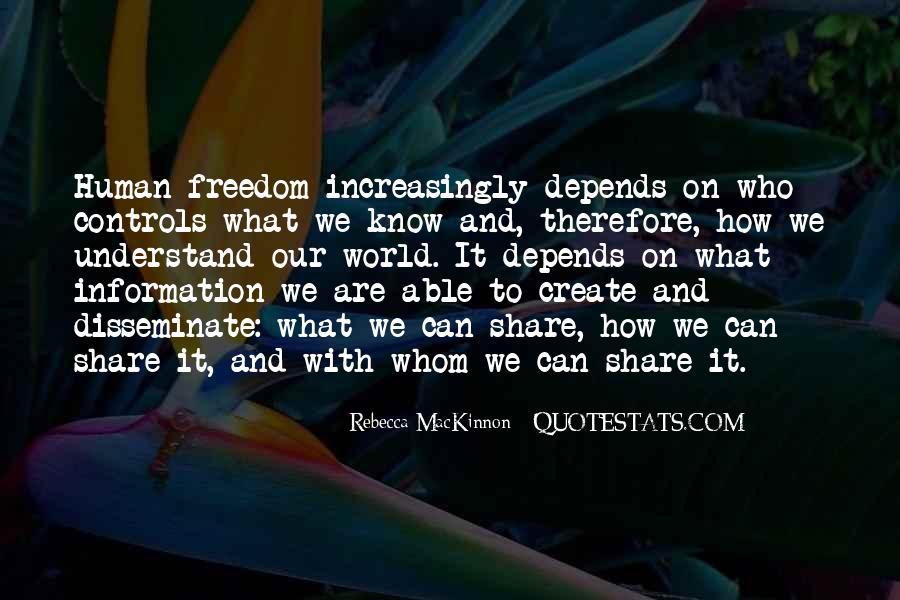 Rebecca MacKinnon Quotes #1458375