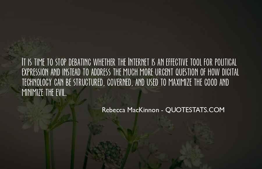 Rebecca MacKinnon Quotes #228199