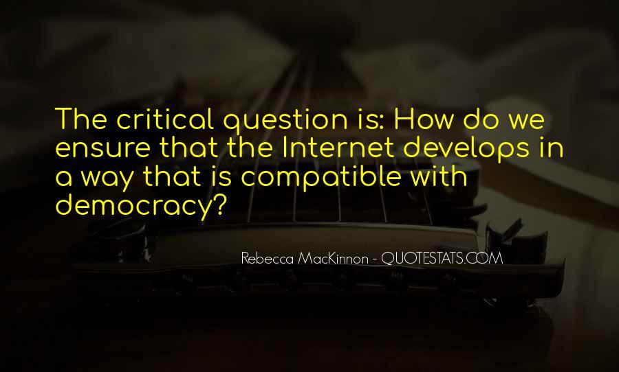 Rebecca MacKinnon Quotes #41206