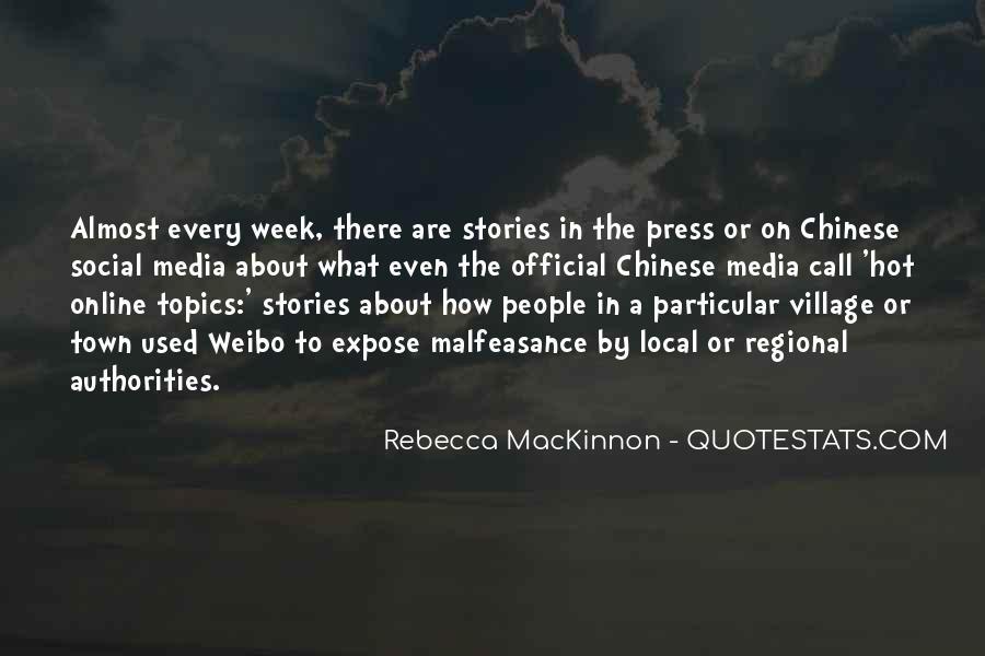 Rebecca MacKinnon Quotes #50491