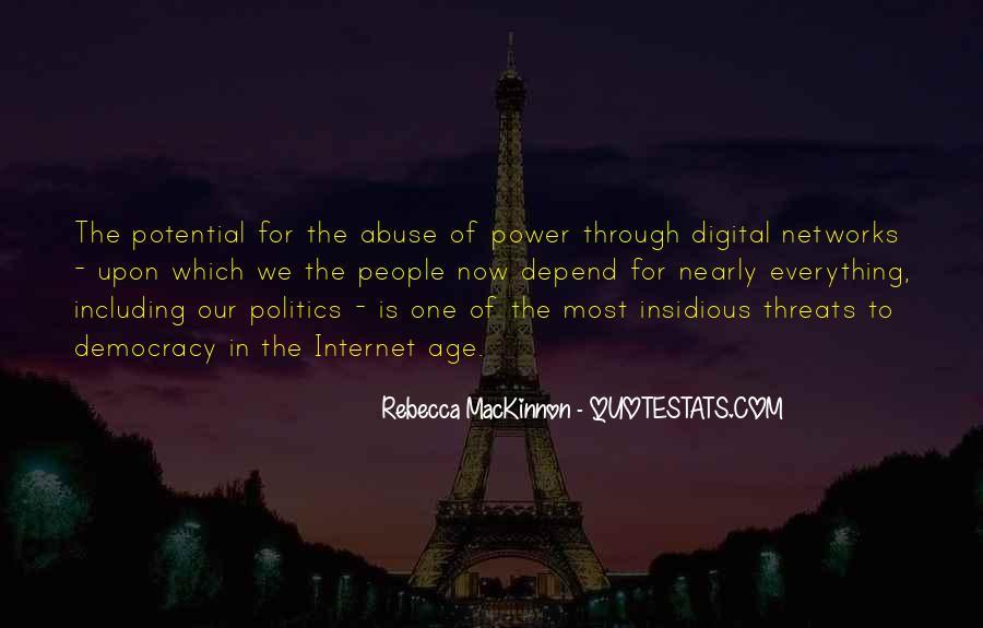 Rebecca MacKinnon Quotes #701604