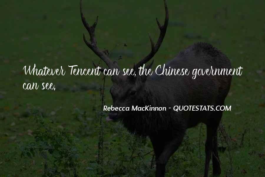 Rebecca MacKinnon Quotes #887141