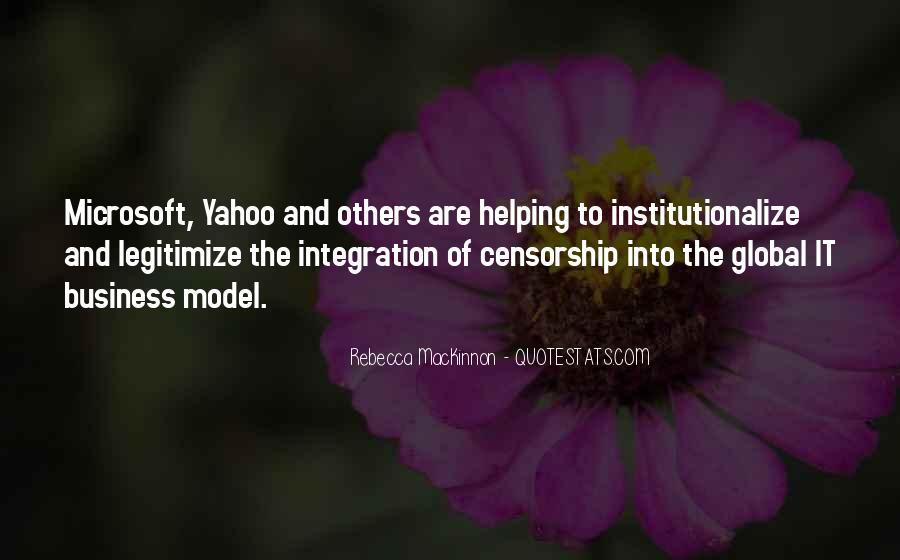 Rebecca MacKinnon Quotes #952645