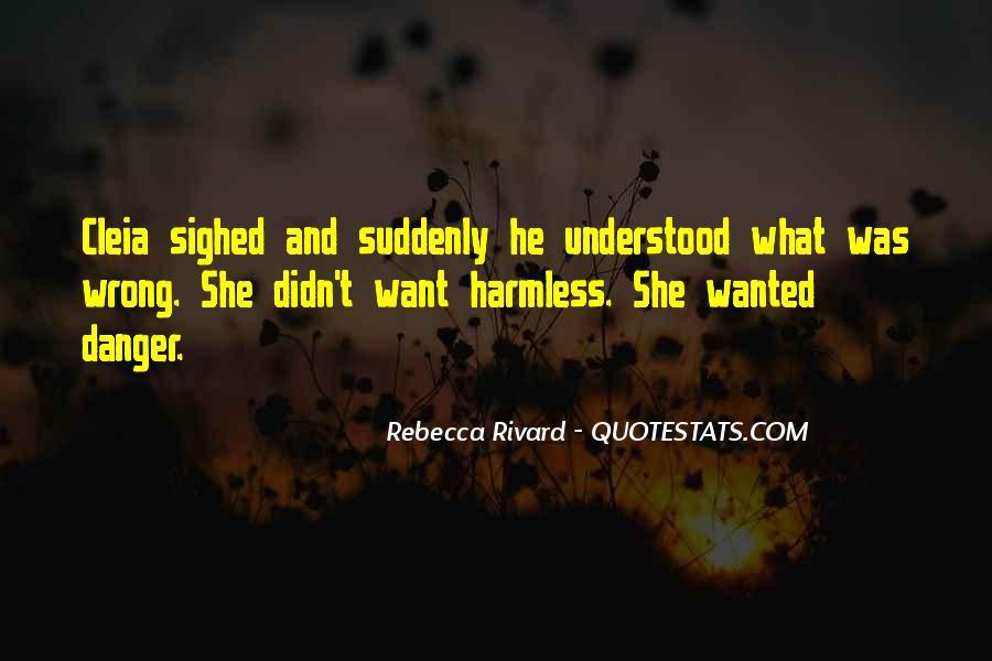 Rebecca Rivard Quotes #1376908