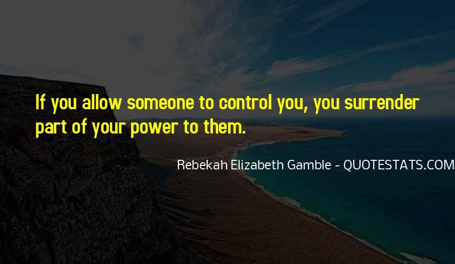 Rebekah Elizabeth Gamble Quotes #1488170