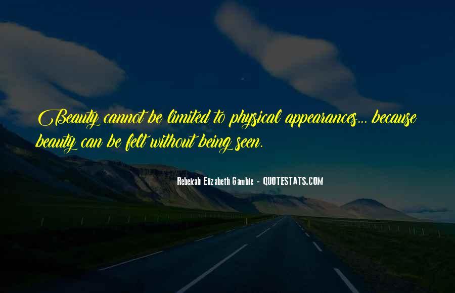 Rebekah Elizabeth Gamble Quotes #1613068