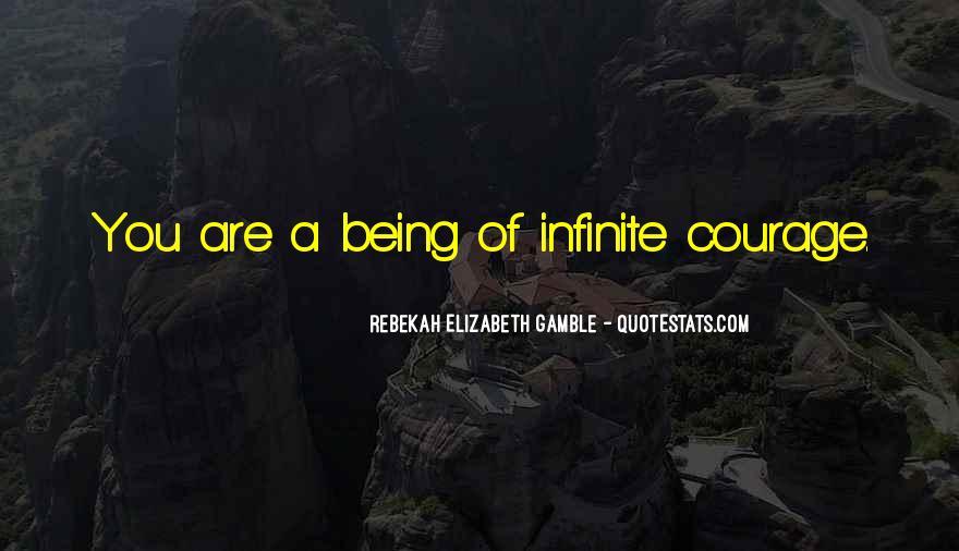 Rebekah Elizabeth Gamble Quotes #345736