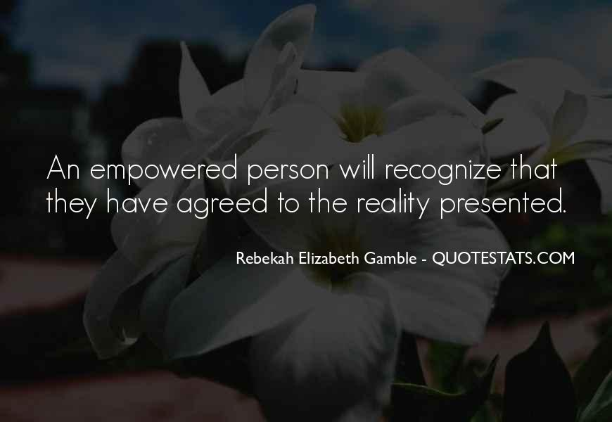 Rebekah Elizabeth Gamble Quotes #732477