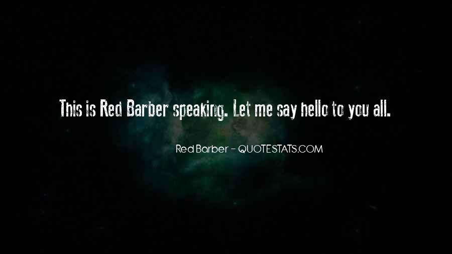 Red Barber Quotes #463138