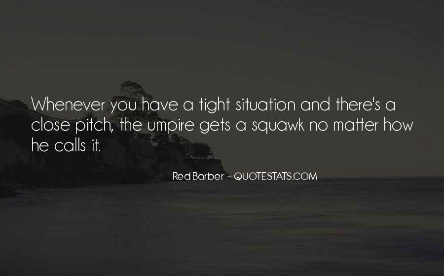 Red Barber Quotes #761246