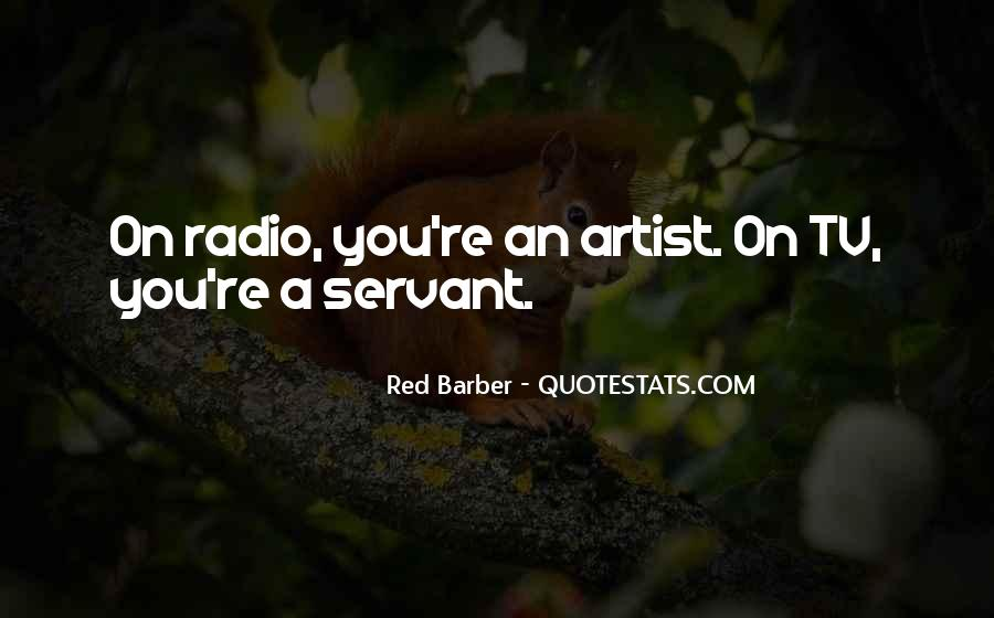 Red Barber Quotes #81068