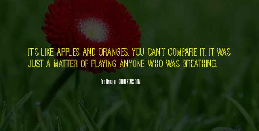 Red Barber Quotes #823273