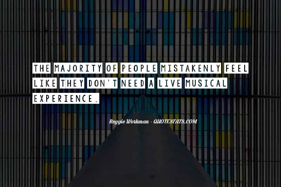 Reggie Workman Quotes #1732343