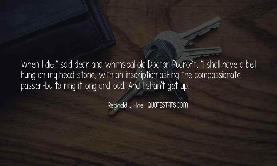 Reginald L. Hine Quotes #492759
