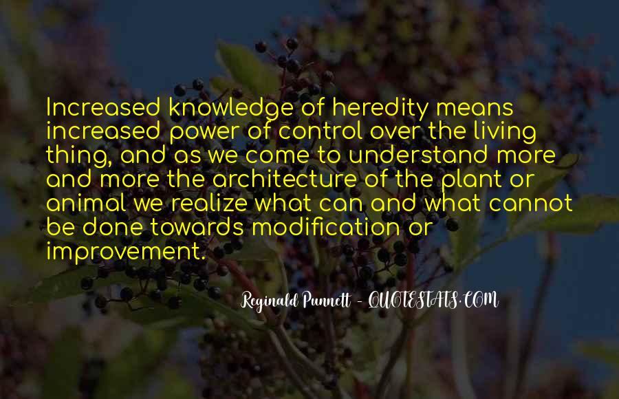 Reginald Punnett Quotes #1526289
