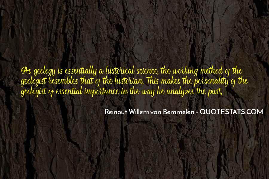 Reinout Willem Van Bemmelen Quotes #1300904