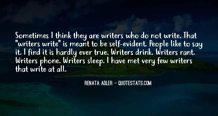 Renata Adler Quotes #1386876