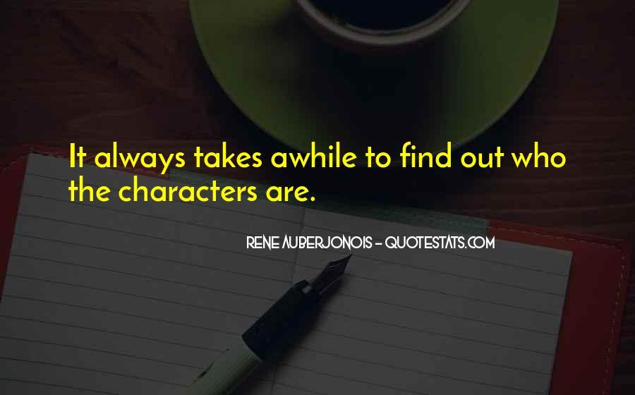 Rene Auberjonois Quotes #227158