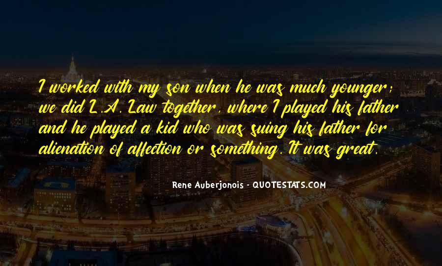 Rene Auberjonois Quotes #657064