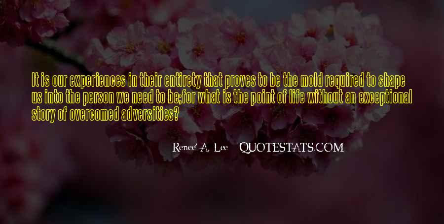 Renee' A. Lee Quotes #378792