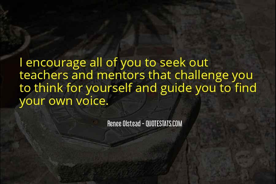 Renee Olstead Quotes #1059321