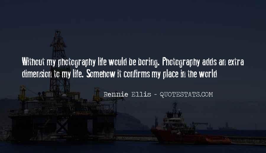Rennie Ellis Quotes #122874