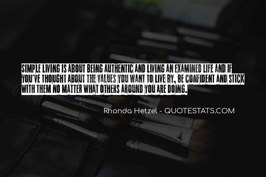 Rhonda Hetzel Quotes #1677129