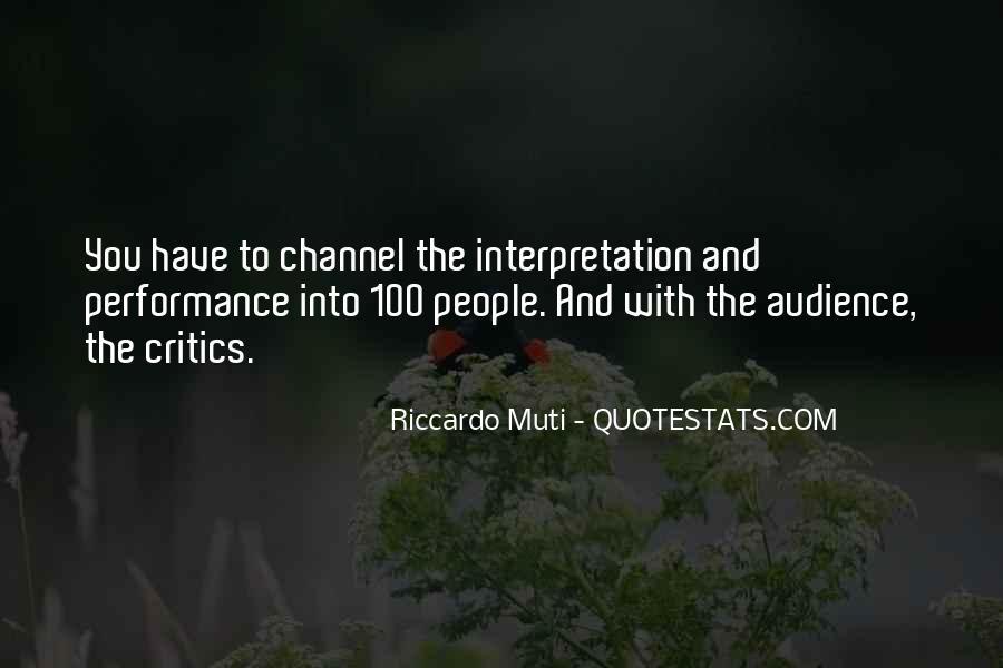 Riccardo Muti Quotes #119056