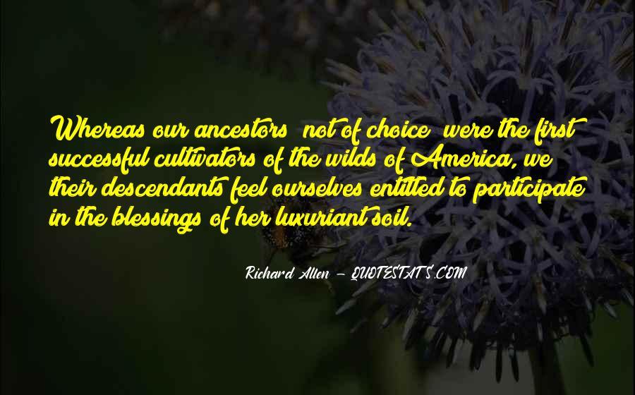 Richard Allen Quotes #1122650