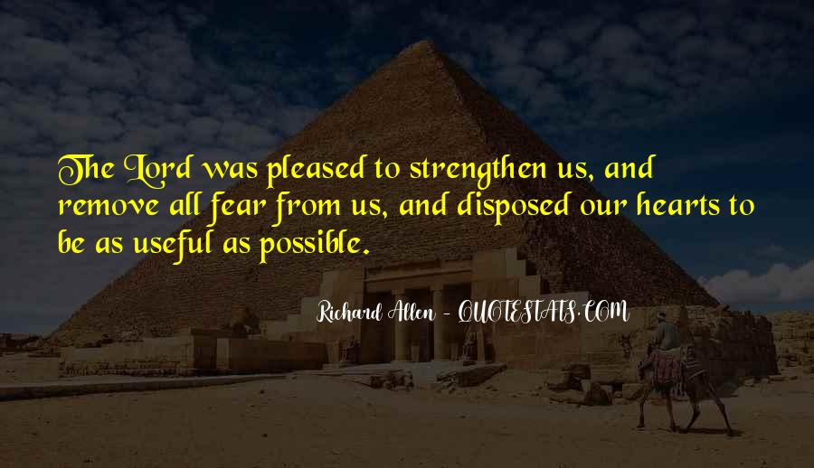 Richard Allen Quotes #429928