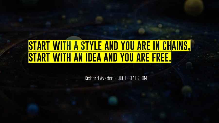 Richard Avedon Quotes #1132936