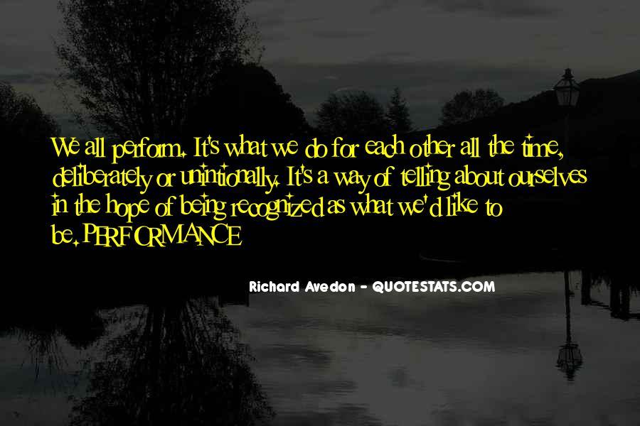 Richard Avedon Quotes #1299154