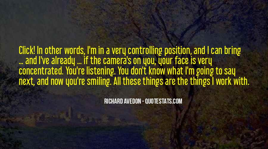 Richard Avedon Quotes #1374984
