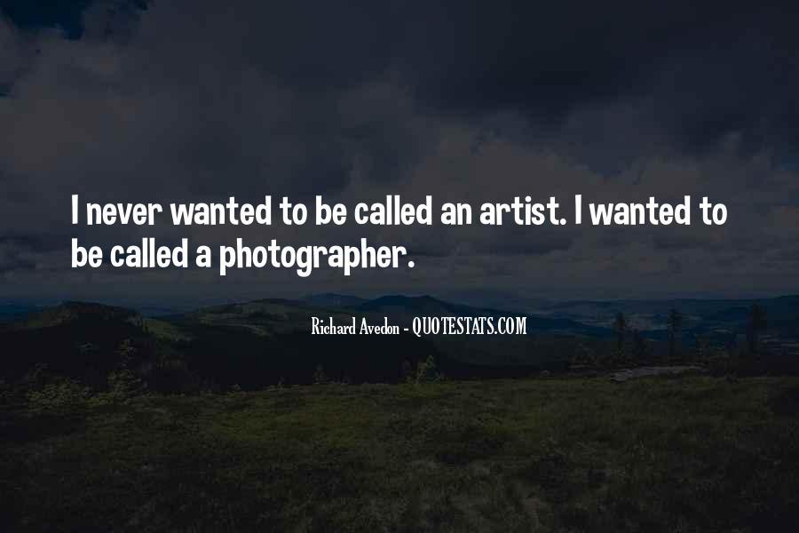 Richard Avedon Quotes #1375707