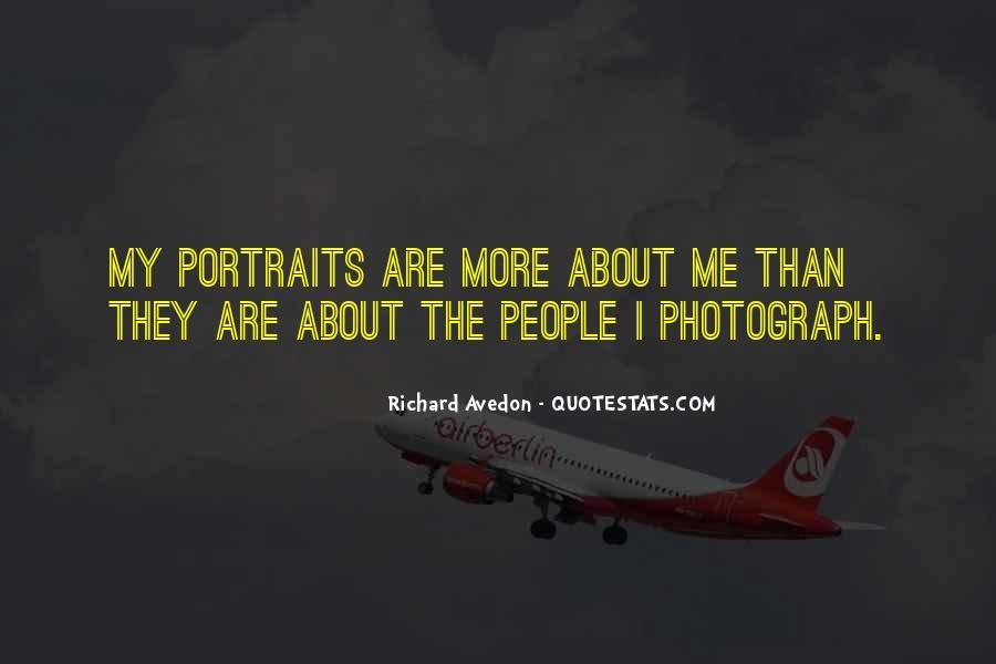 Richard Avedon Quotes #1467062